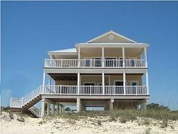 St. George Island 5 br Beach Front Vacation Rental Home: Making Waves Stayed here in 2010 and again in 2012.