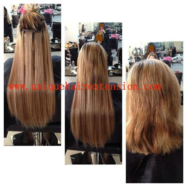 Tape In Hair Extensions Before And Afterit Is Amazing Hairvery