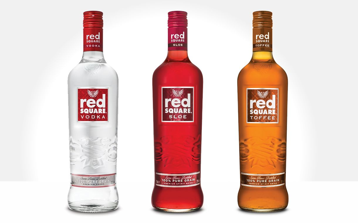 Red Square Vodka Unveils New Flavours And 1m Campaign Vodka Alcohol Packaging Design Interesting Alcoholic Drinks