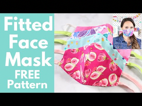diy face mask sewing tutorial in 2020 Face mask tutorial