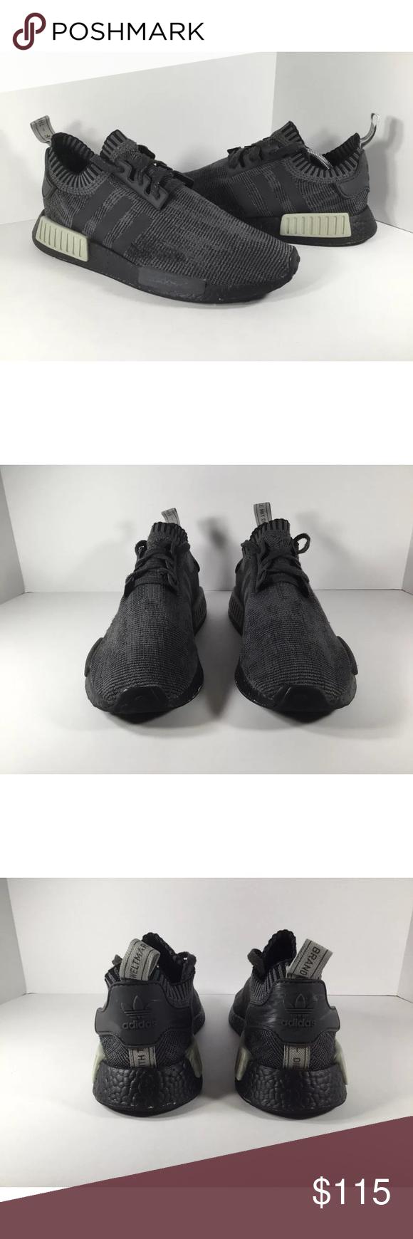 wholesale dealer 9097d 2ac64 adidas Shoes | Adidas Nmd R1 Pk Boost Nomad | Color: Black ...