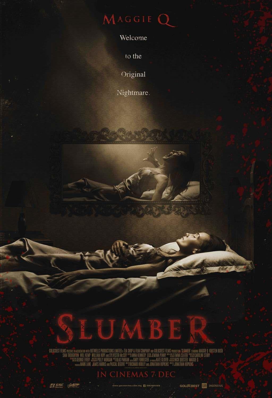 Slumber 2017 Trailer Maggie Q Sylvester Mccoy Horory