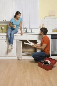 how to install a garbage disposal in a