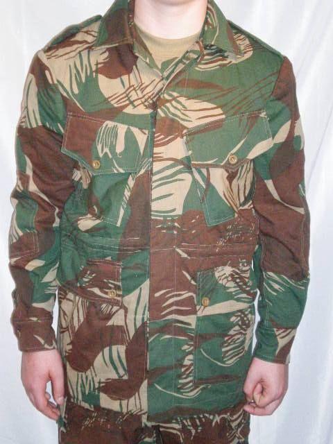 Rhodesian Camouflage Bush Jacket Reproduction Large