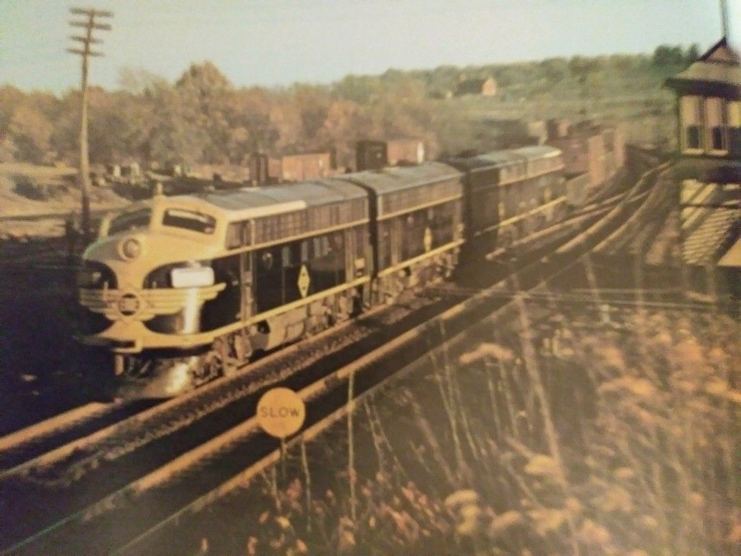 ERIE F5 ABBA SET ROAR PAST CAMPBELL HAUL N.Y. TOWER! IN