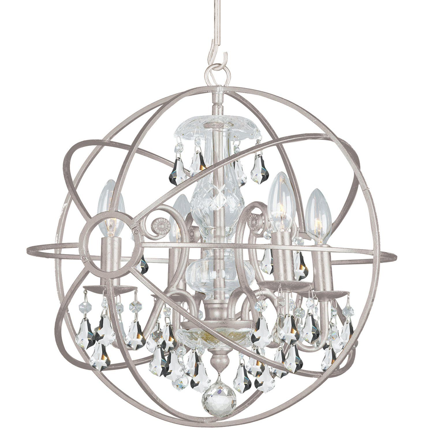 with iron crystorama cut of wrought and the eloquence group lighting hand to chandeliers english crystal light solaris chandelier clear globe bronze click save full size wide larger for view thumbnails shop