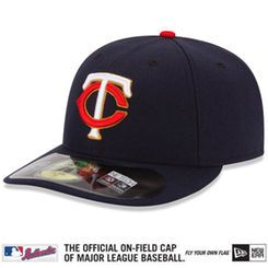 newest 9108b 81425 Minnesota Twins New Era Men s Alt Authentic Collection On-Field  59FIFTYPerformance Fitted Hat - Navy