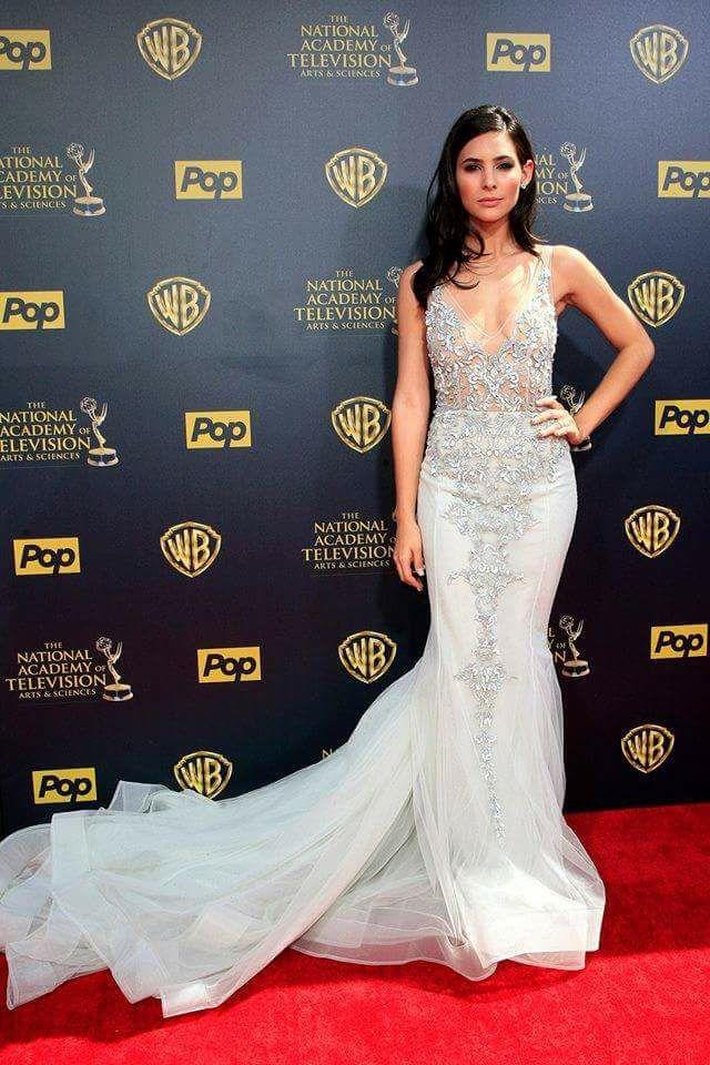 eefe68b4de7 Camila Banus in Paolo Sebastian at the Daytime Emmys