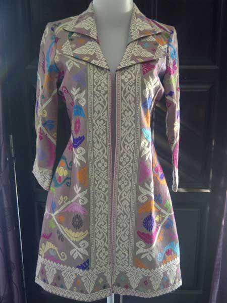 Kain Songket Bali | Model pakaian, Model pakaian guru