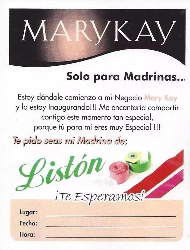 Madrinas Liston Mk Mk Pinterest Mary Kay Mary Y Maquillaje