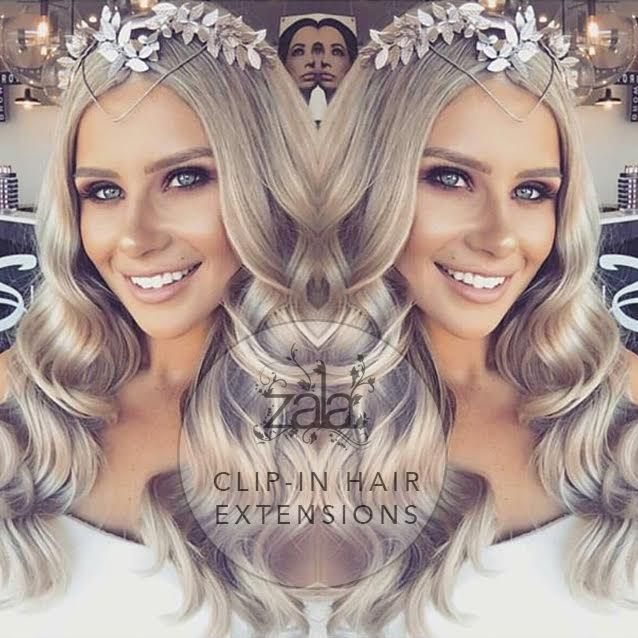 Melbourne Cup Has Never Looked Better Wearing Zala Clip In Hair