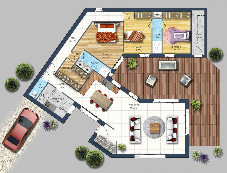 Maison Moderne Haute Goulaine 44