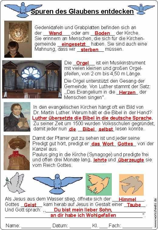 Tabellarischer Lebenslauf Von Martin Luther 9