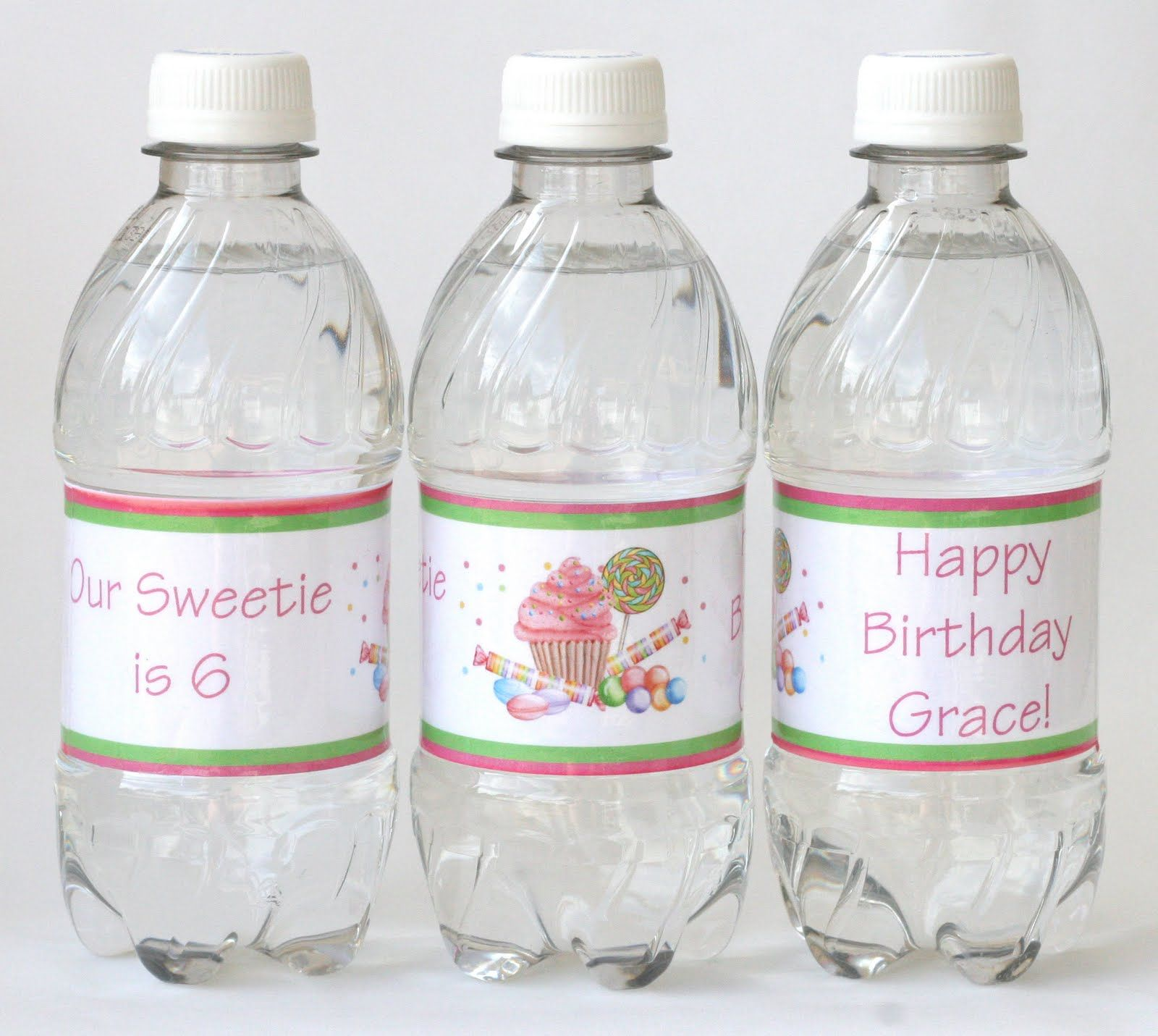 {How-to} Make Custom Water Bottle Labels