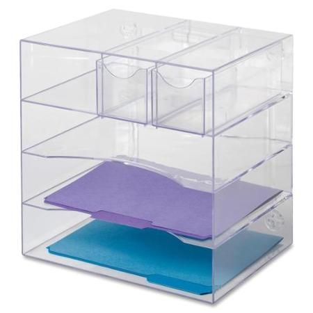 Rubbermaid Optimizer Four Way Organizer With Drawers 5