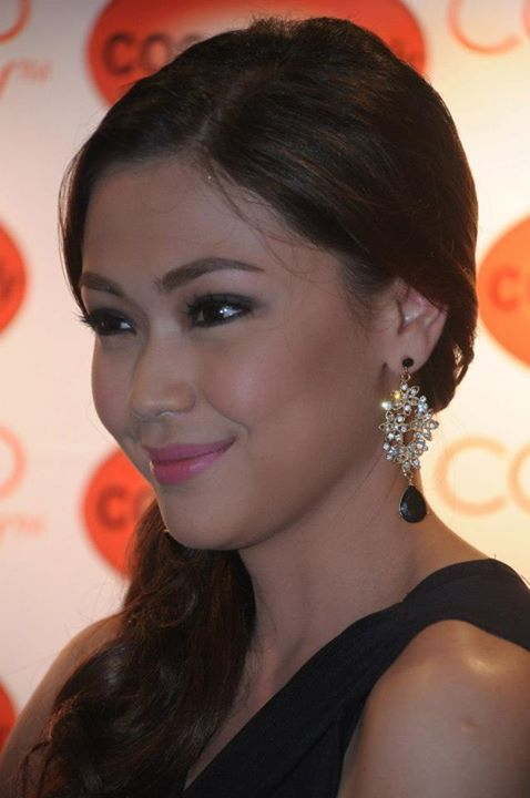 Jodi Sta Maria Filipina Beauty Beauty Diamond Earrings