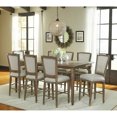 Sadie 9Piece Counterheight Dining Set  Dining Room  Pinterest Amazing Height Dining Room Table Inspiration Design