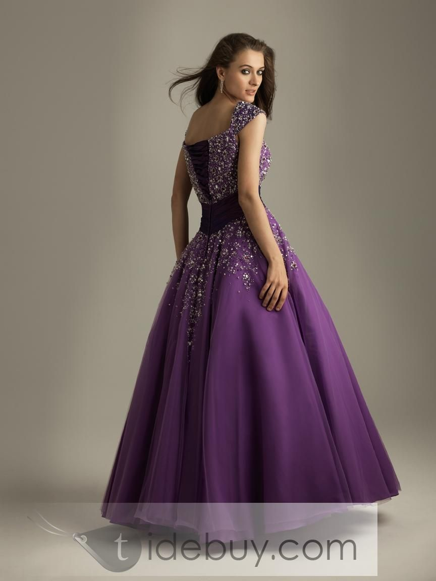 Ball gown square neckline floorlength quinceanera dresses