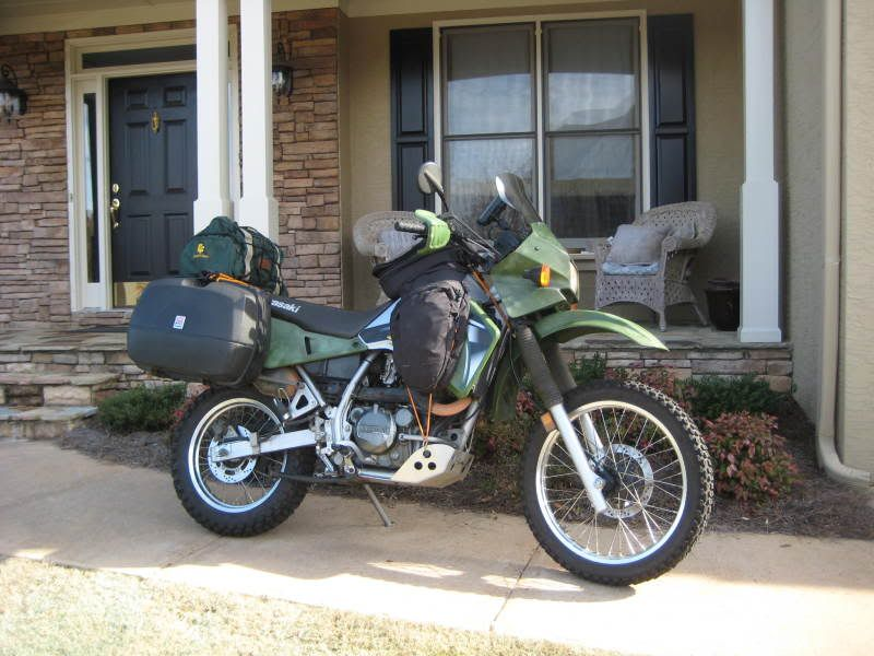 YOUR klr posing as a pack mule - Page 2 - KLR650 NET Forums