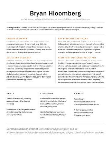 Resume Templates to Highlight Your Accomplishments Resume - professional accomplishments resume
