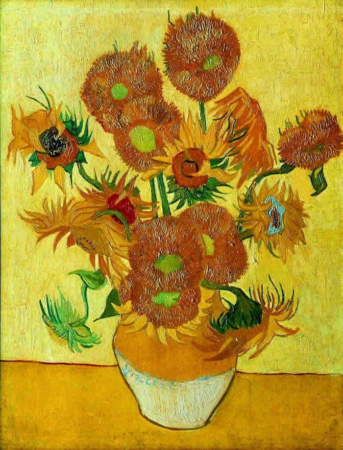 Van Gogh Principais Obras E Seus Nomes Girassois De Van Gogh