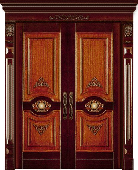 Wooden Main Entrance Door Design , Best Wood Carving Door Design For Villa  U0026 House Entry