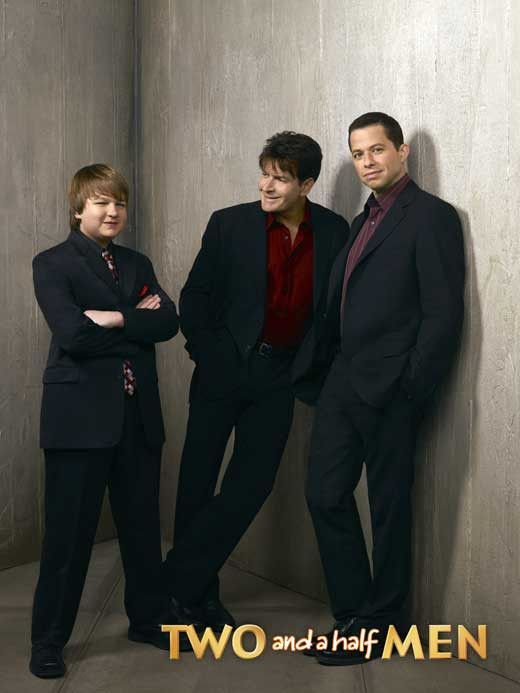 Two And A Half Men 11x17 Tv Poster 2003 Half Man Two And A Half Two Half Men