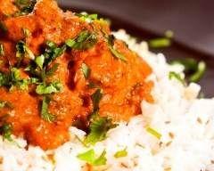 Curry d'agneau au lait de coco et aux trois herbes (facile, rapide) - Une recette CuisineAZ