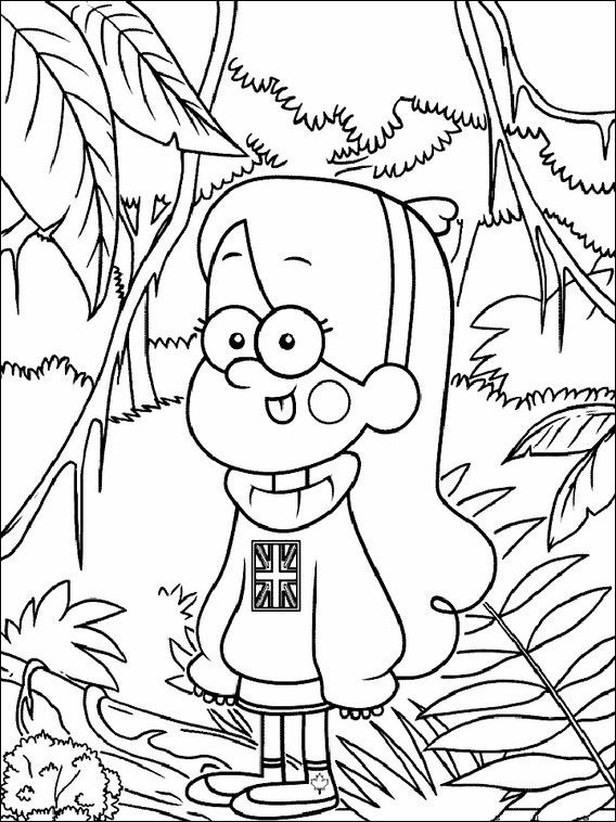 Gravity Falls Coloring Pages 1 Coloring Pages Printable Coloring Book Coloring Books
