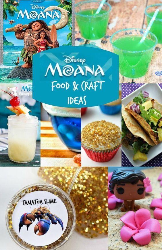 Disney Moana Party Crafts & Moana Food Ideas! | Party ...