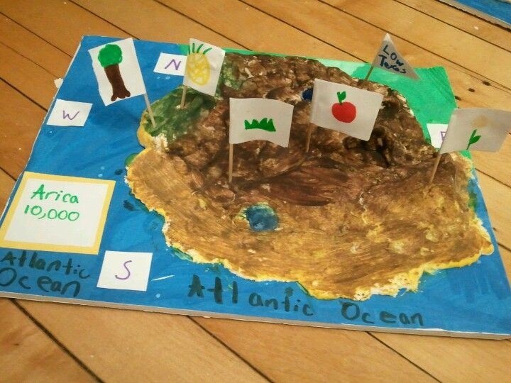 Make Your Own Diorama: Geography Project (Invent Your Own Country)