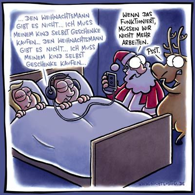 NICHTLUSTIG-Cartoon: PLAN