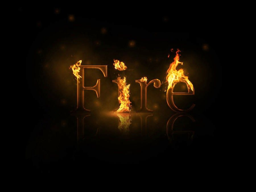 Tech Time: Fire Effect on your Blogg Links