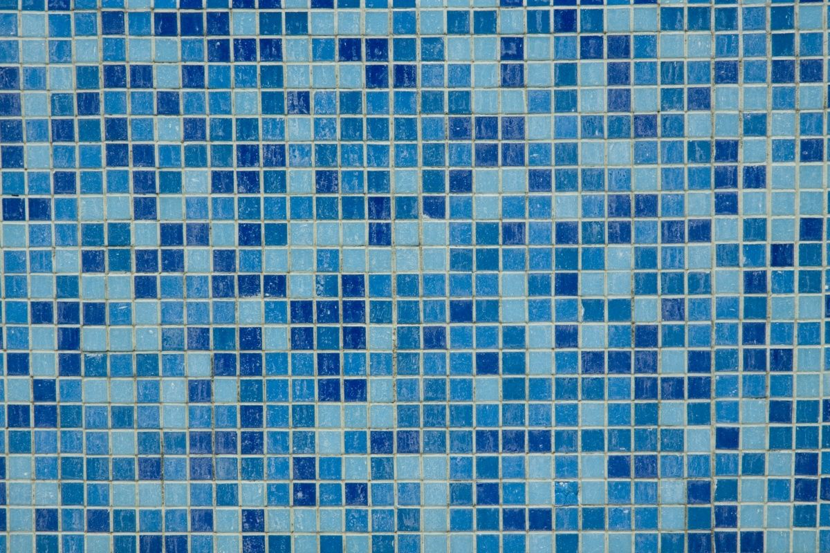 3 Shades of Blue - Mosaic Tile | Tiles | Pinterest