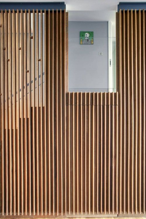 Smalle woonkamer | Interieur inrichting | Stairs | Pinterest | Woods