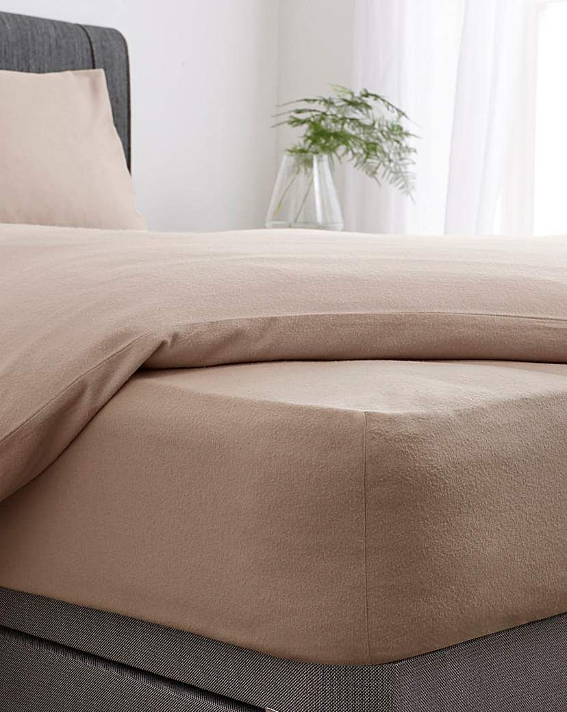 Super Soft Brushed Cotton Fitted Sheet In 2021 Brushed Cotton Fitted Sheet Creating Texture