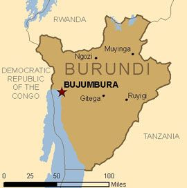 Map Burundi Burundi Africa Pinterest Africa And Destinations - bujumbura map