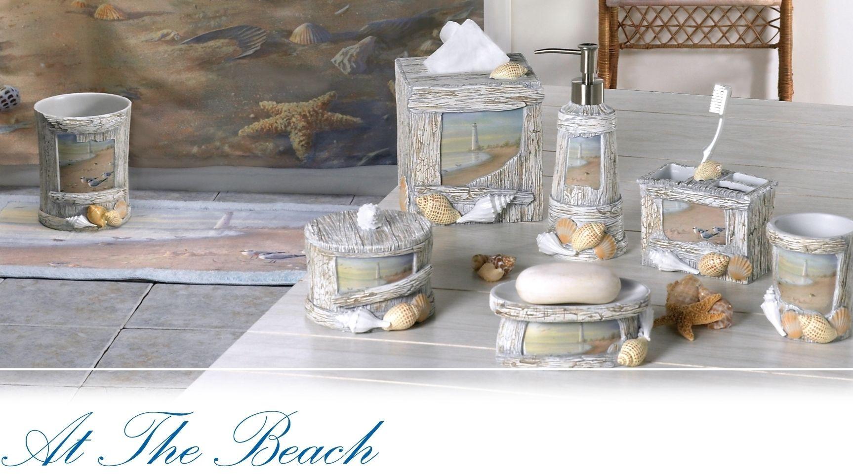 Beach Themed Bathroom Accessories, Bathroom Theme Sets