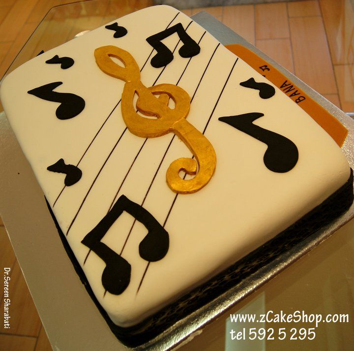 Music cake!