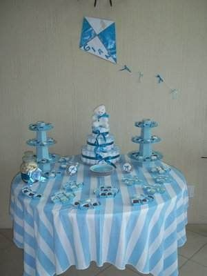Beautiful Cómo Decorar La Mesa Principal Del Baby Shower