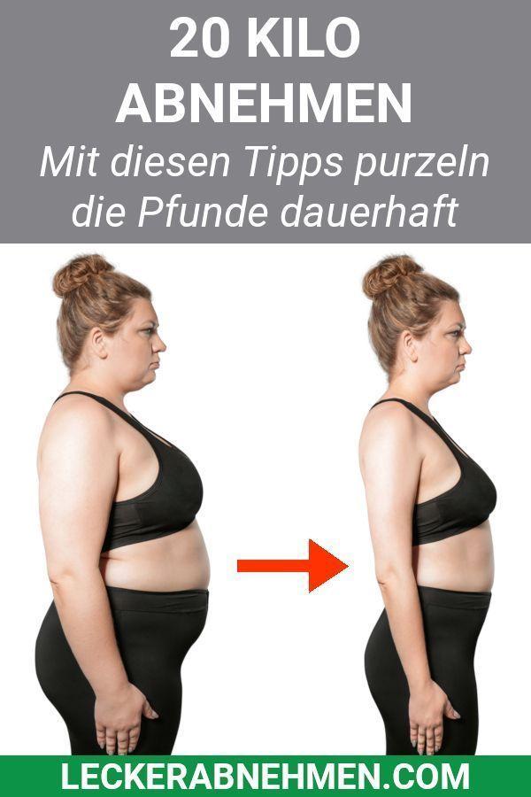 Tipps zum Abnehmen von 20 kg