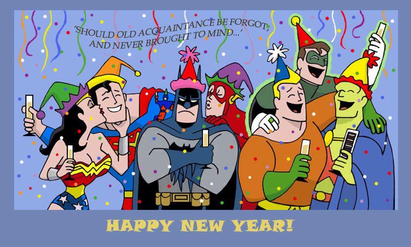 """Résultat de recherche d'images pour """"super heroes happy new year"""""""