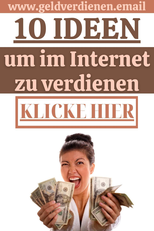 ideen um im internet geld zu verdienen best crypto coins may 2021