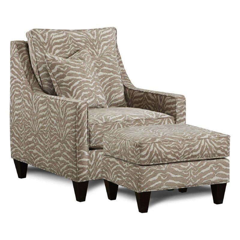 Chelsea Home Furniture Drury Leopard Fall Club Chair 632120 C Lf