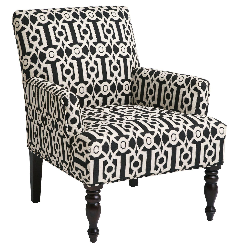 Best Hardwood Liliana Armchair Black Ironwork Accent Chairs 640 x 480