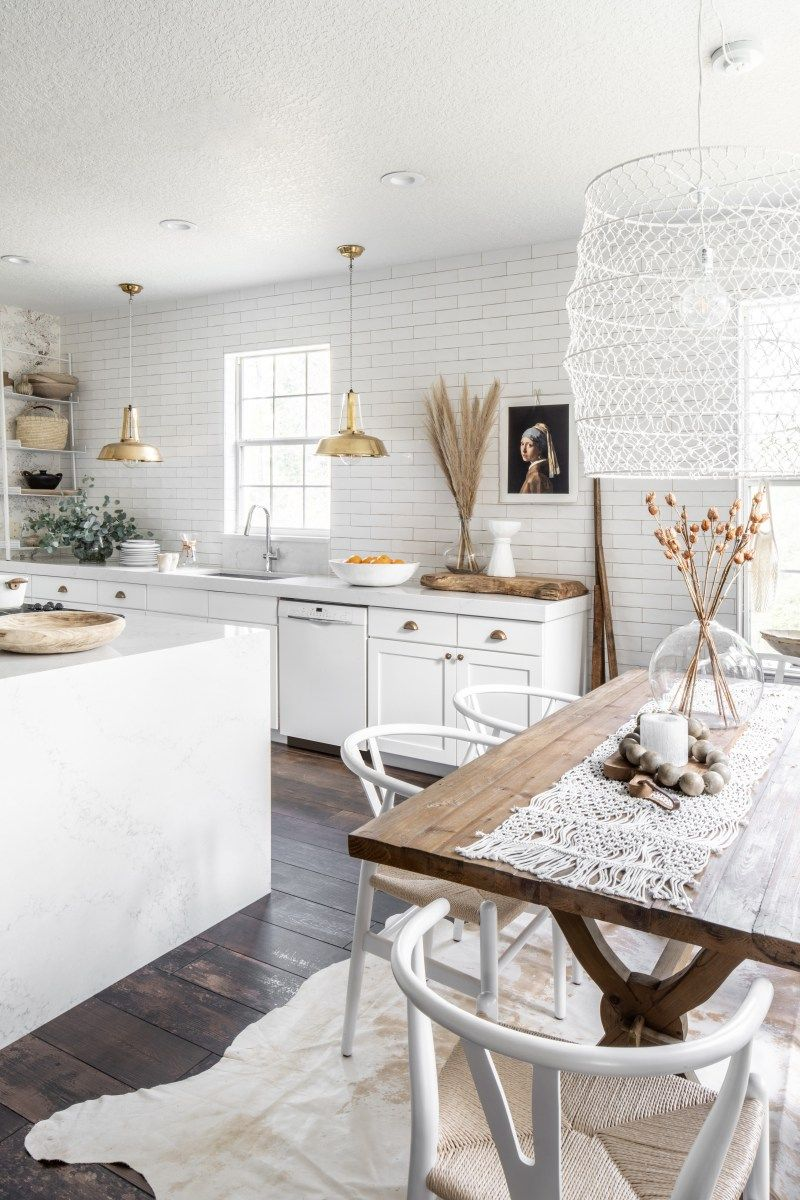 Step Inside Interior Designer Dan Mazzarini S Apartment In New York City In 2020 Kitchens Without Upper Cabinets Upper Cabinets Boho Kitchen