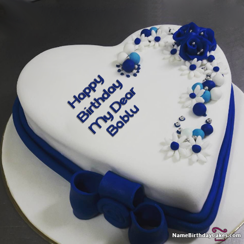Surprise Image For Happy Birthday Cake Name For Mom Bablu