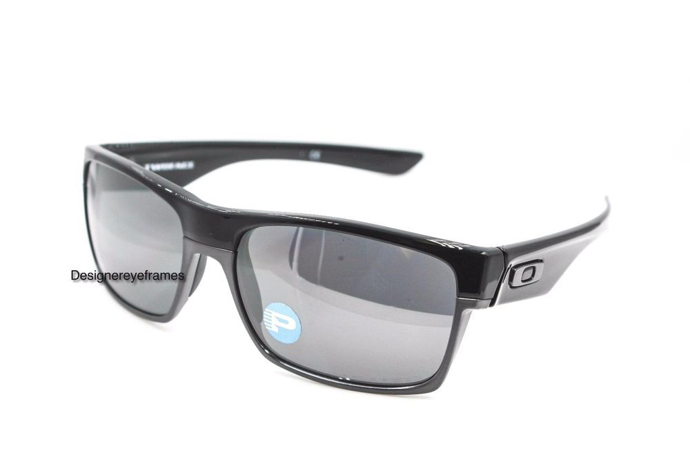 d98a4ce7d6 OAKLEY Twoface OO9189-01 Polished Black Iridium Polarized Sunglasses NWT  AUTH  Oakley  Sport