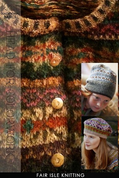 Beautiful fair isle knitting, free hat patterns for the beginner ...