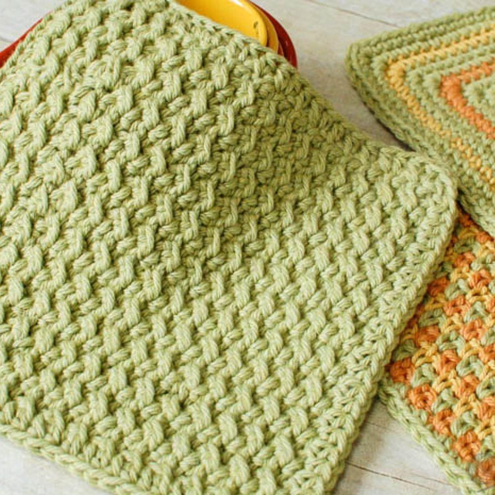 Crunchy stitch crochet dishcloth pattern green tips pinterest crunchy stitch crochet dishcloth pattern bankloansurffo Gallery